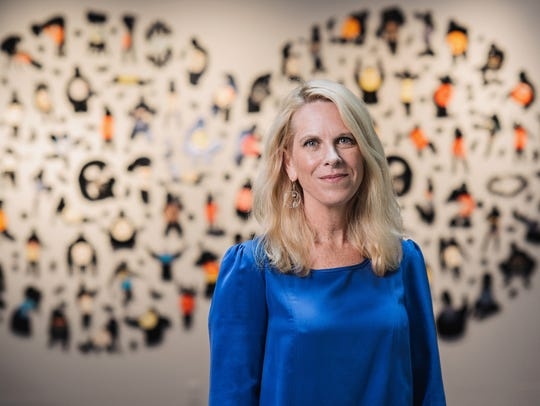 21c Museum Director and Chief Curator Alice Gray Stites.