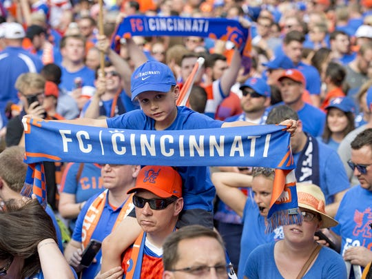 Cheer on the Orange & Blue with thousands of other FC Cincinnati fans as the team take on Nashville SC in postseason play Saturday.