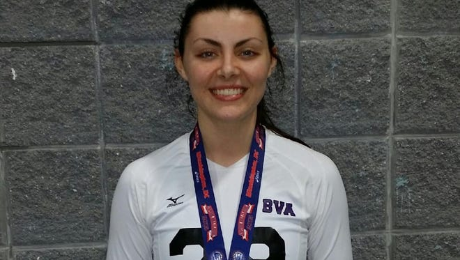 North Buncombe's Cameron McAbee has committed to play college volleyball for Tusculum.