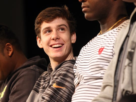Patrick McCaffery, 17, is now an Iowa City West sophomore. He has been proclaimed cancer-free since June 2014.