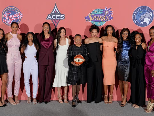 The WNBA top 10 draft picks Thursday in New York, with
