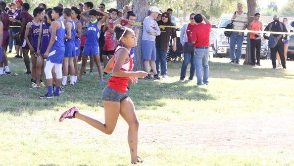 Jefferson senior Brooke Woodson won the District 1-5A