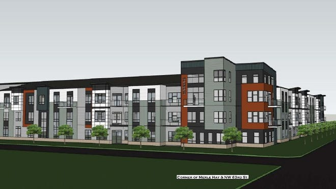 Hubbell Realty Co. plans to break ground this summer on Cadence Apartments, a $25 million project in Johnston. The development will feature 195 market-rate apartments.