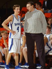 Former Hillcrest Coach Ryan Shaw, right, died unexpectedly