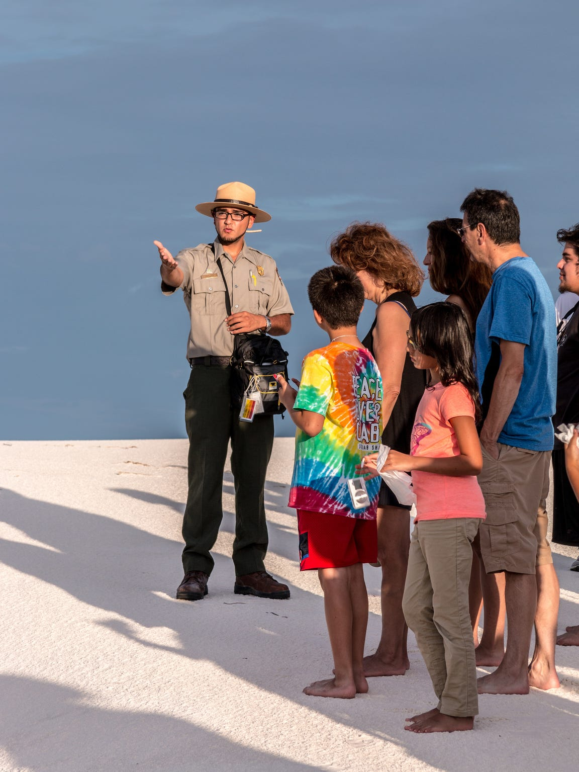 Several ranger-guided programs and tours are offered