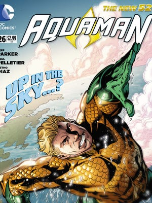 """""""Aquaman"""" gets a new series writer in Jeff Parker beginning this week."""