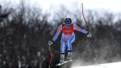 Lindsey Vonn (USA) during training for the women's