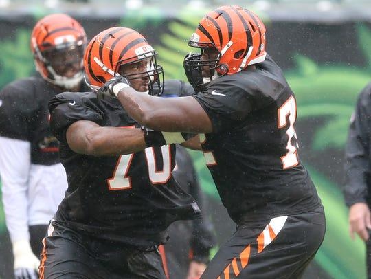 Cincinnati Bengals offensive tackle Cedric Ogbuehi