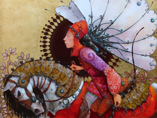 Merab Gagiladze is one of 200 artists appearing in