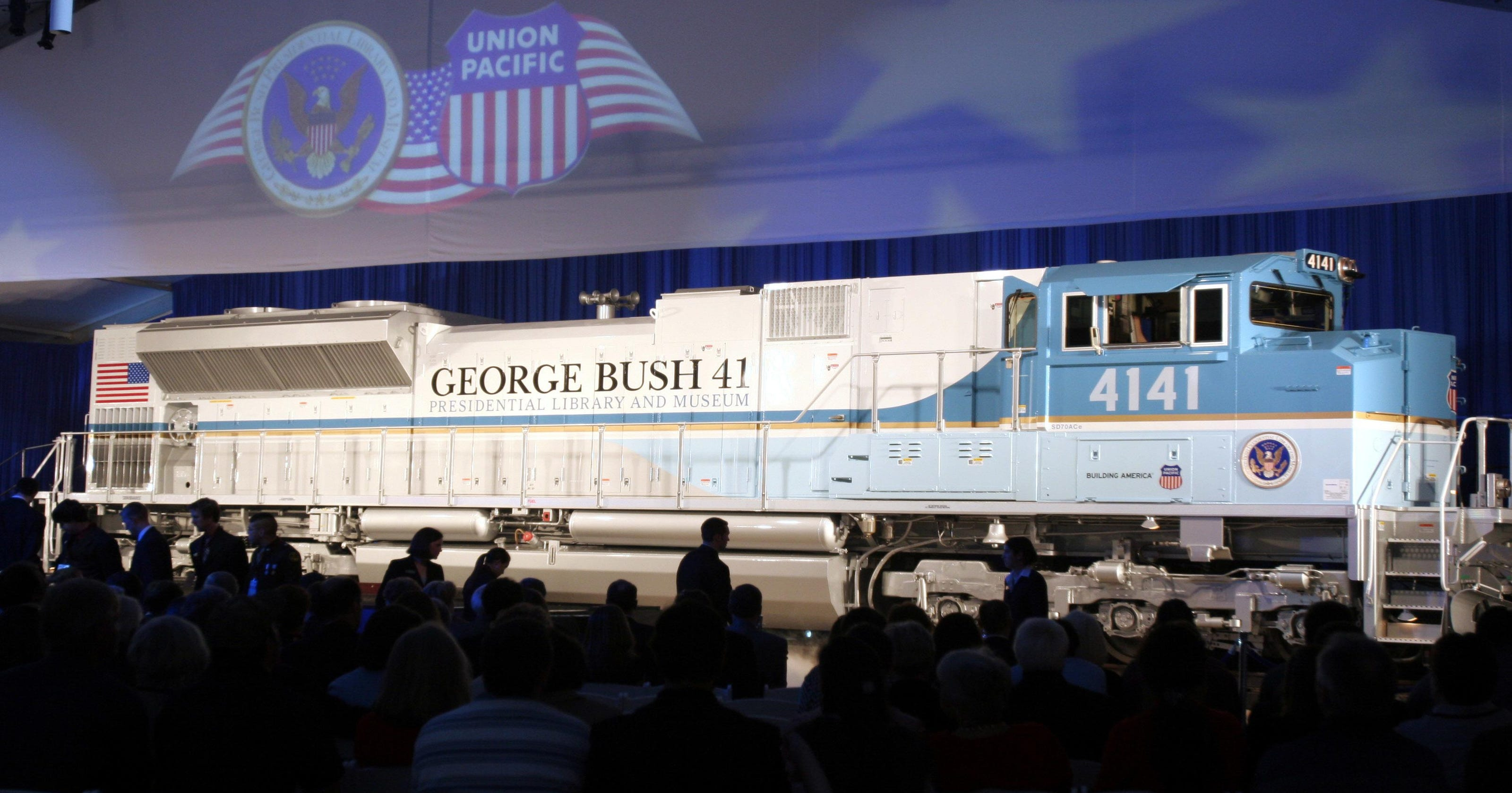 Presidential funeral train will be first in nearly 50 years