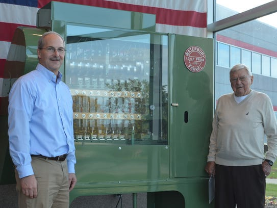 CEO Tom Jagemann, right, is now at the helm of the