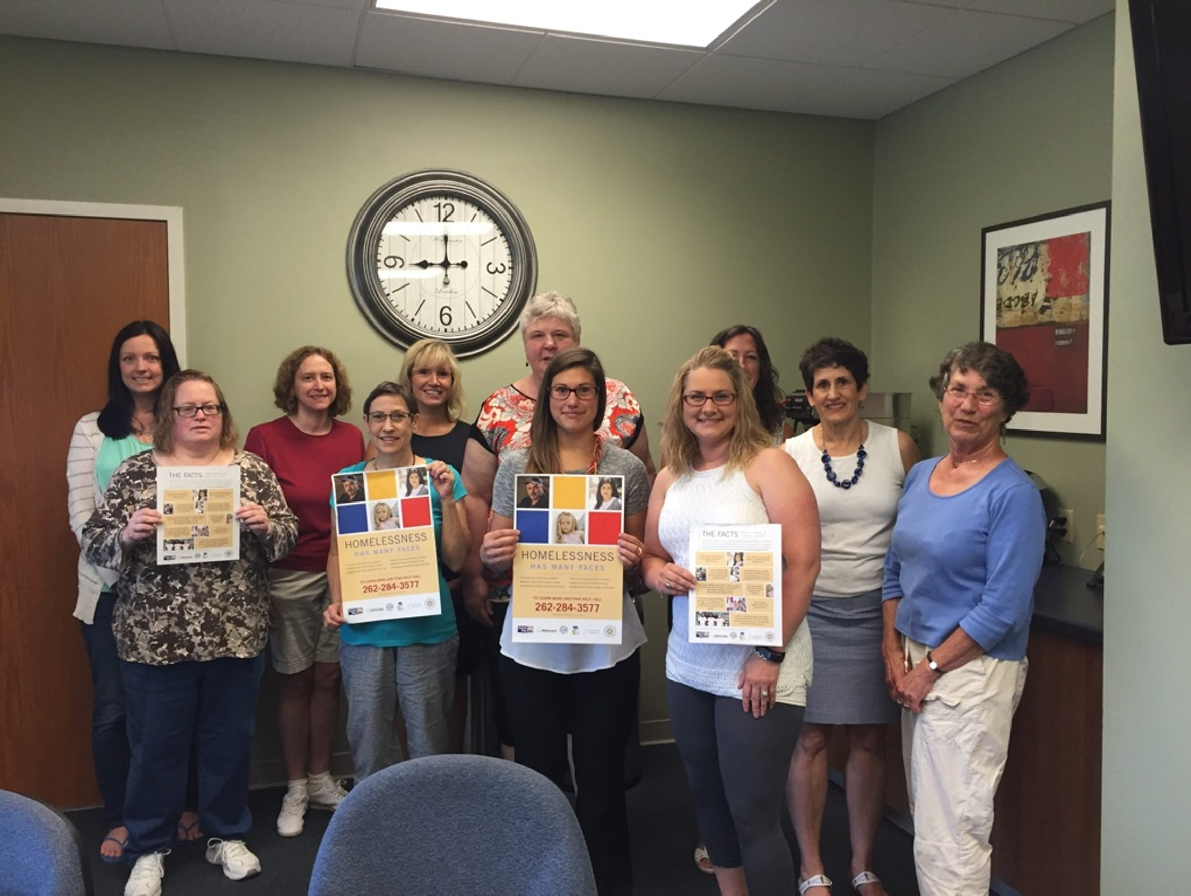 A homeless prevention meeting was held July 27 at the