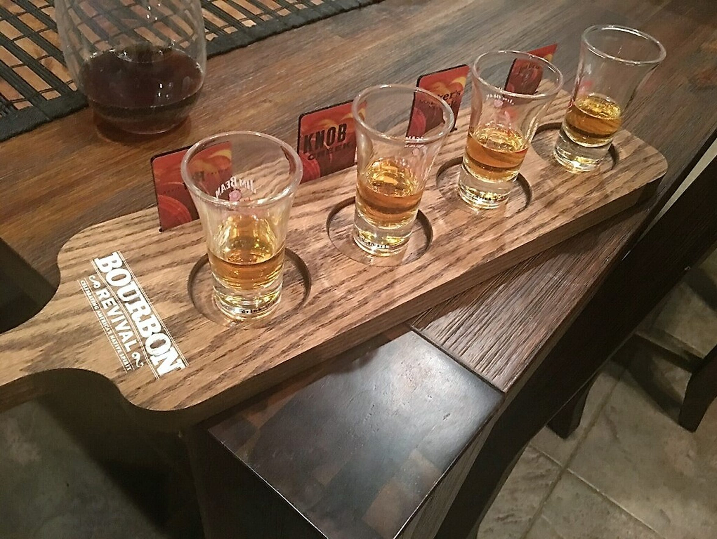 A feature of Whiskey One Eleven in Palm Desert will