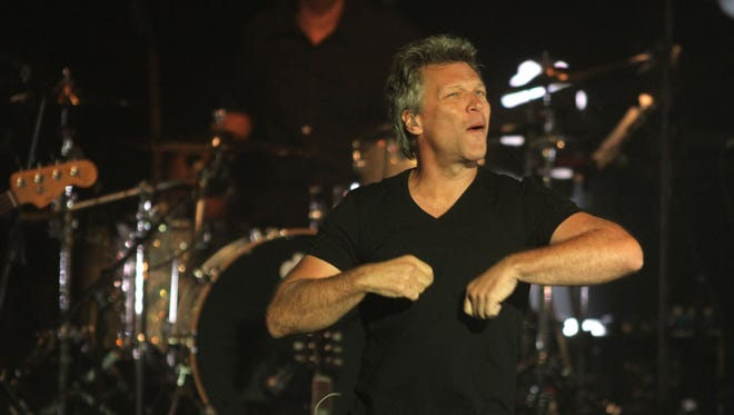 Jon Bon Jovi at the Count Basie Theatre in Red Bank Wednesday July 30, 2014 in Red Bank.