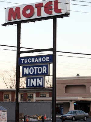 The exterior of the Tuckahoe Motor Inn in Yonkers