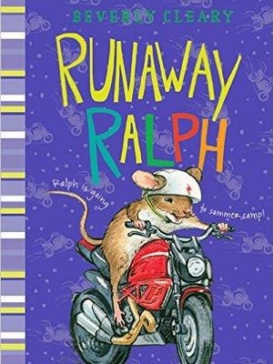 'Runaway Ralph' by Beverly Cleary.