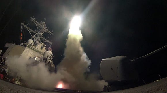The Syrian missile strike was a humanitarian intervention,