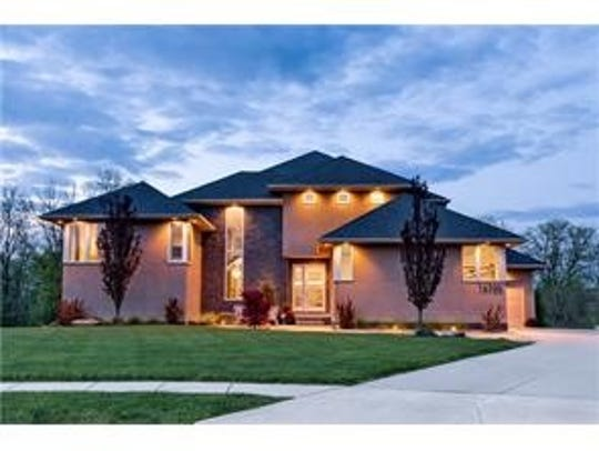 This Clive home sold for $1,025,000.