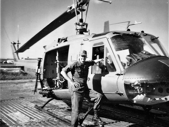 Weldon Spencer was assigned to helicopter duty, not