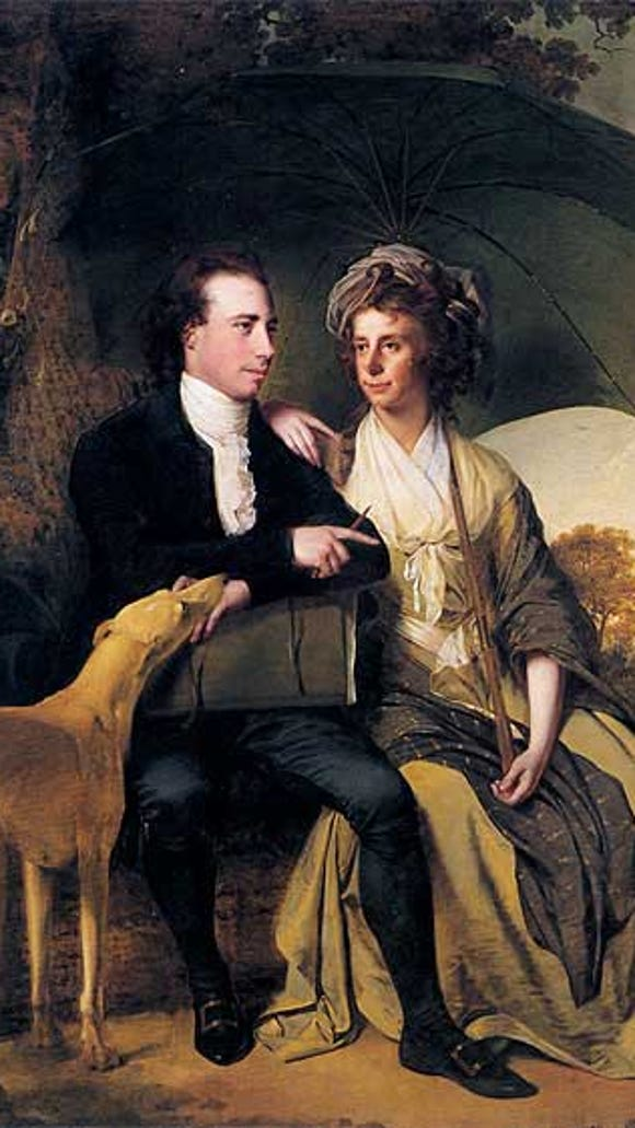 Thomas Gisborne and wife Anne