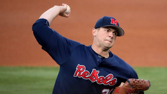 Starting pitcher Brady Bramlett announced Saturday that he would end his baseball career after being drafted in the 13th round by the Boston Red Sox. The redshirt junior posted a 3.17 ERA and an 8-3 record as Ole Miss' ace.