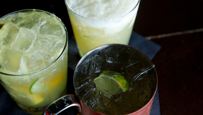 Nevermind in Cape Coral offers several refreshing summer cocktails including the White Sangria, Nevermind Whiskey Sour and the Moscow Mule.