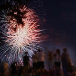 The News-Star file photoThe Twin Cities will celebrate the Fourth of July with a fireworks show Saturday over the Ouachita River. Fireworks over the Twin Cities celebrate the Fourth of July 2012. The News-Star/File photo CenturyLink Independence Day Celebration and Fireworks Forsythe Park on Saturday, July 02,