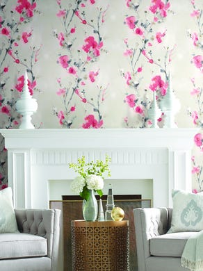 Floral Patterns With Large Motifs Are Big Bold And Back In Home