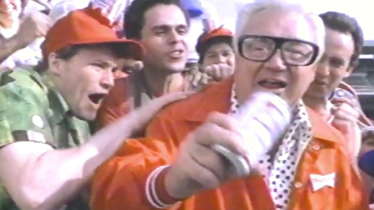 Budweiser celebrated the Cubs' historic World Series win by bringing back an old commercial featuring the late great Harry Caray.