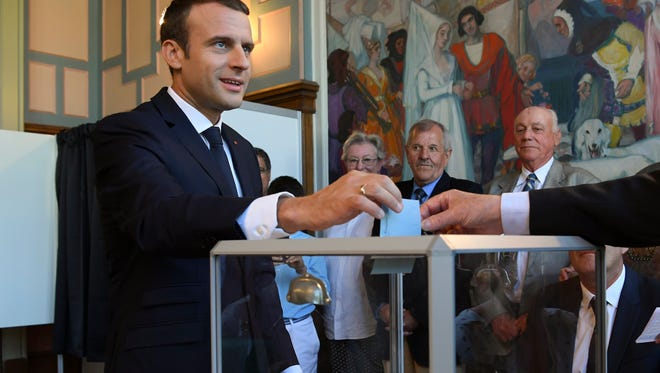 France Election Voters Set To Hand President Emmanuel Macron A Majority