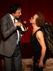 Kevin Nealon and Richard Simmons perform at the One