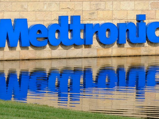 Medtronic sign reflection