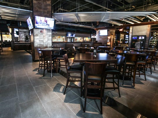 Preview of Yard House Brewery, 15 Maryland St, Indianapolis, Wednesday March 18th, 2015. The brewery opens it's downtown location, March 25th, 2015.
