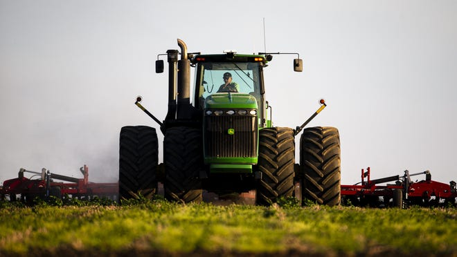 In this 2019 file photo, tractor turns the soil in a field north of New Berlin.