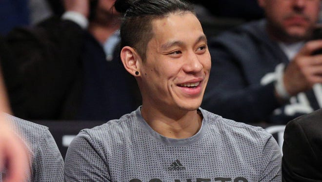 Brooklyn Nets injured point guard Jeremy Lin says the racist slurs hurled at him came more frequently when he played college ball at Harvard than it does now in the NBA.