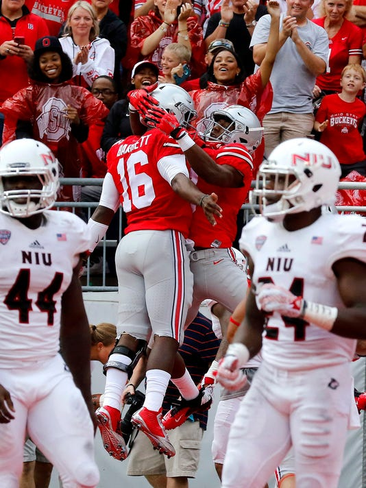 NCAA Football: Northern Illinois at Ohio State