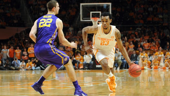 Tennessee has gone 2-4 so far in home games against SEC competition, most recently losing 73-55 to LSU.