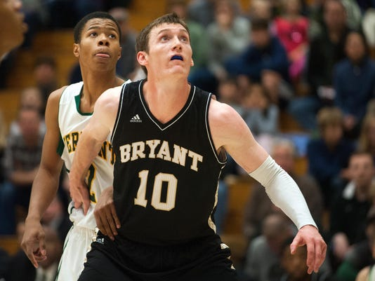 Bryant vs. Vermont Men's Basketball 11/26/14