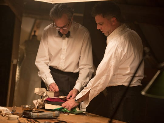 Daniel Day-Lewis (left) and writer/director Paul Thomas