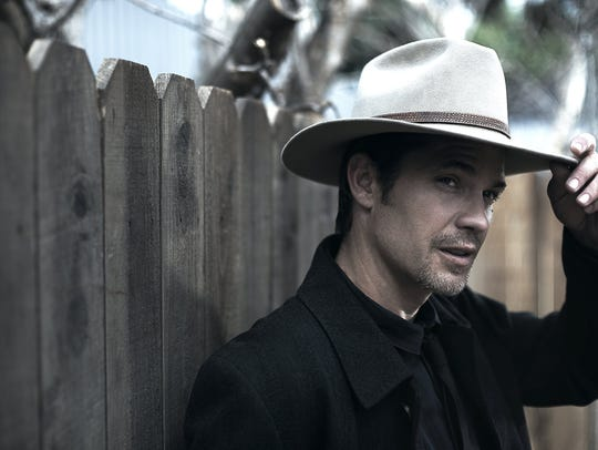 """Timothy Olyphant in FX's """"Justified."""""""