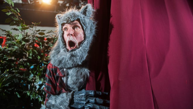 'Little Red Riding Hood,' starring, of course, Red and the Big, Bad Wolf, starts the 2015 children's theater series at the Broadway Theatre of Pitman.