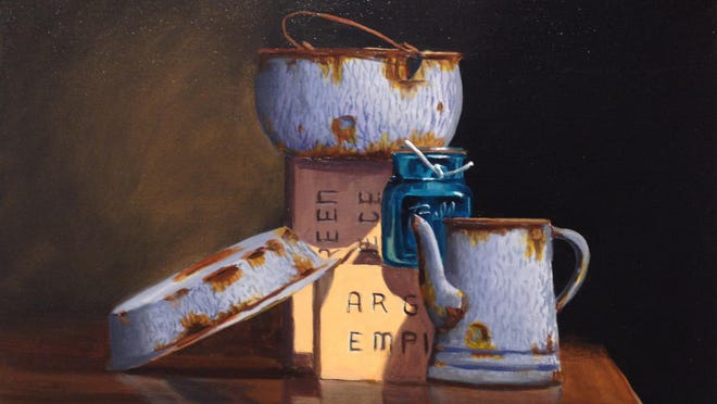 Arts Visalia is pleased to feature the paintings of Tulare-based artist Manuel Abad throughout the month of September.