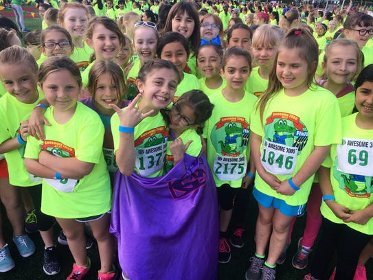 Students participated in the 35th annual Awesome 3000