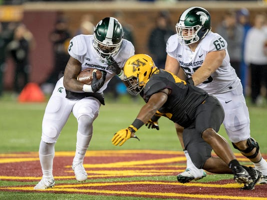 MSU ground game vs. Minnesota