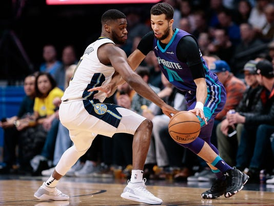 NBA: Charlotte Hornets at Denver Nuggets