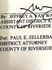 A Riverside County wiretap application, approved by