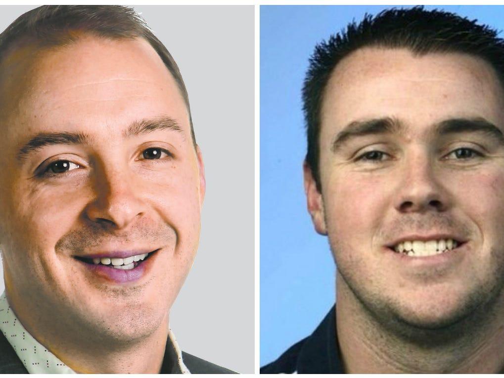 Cory Mull and Adam Regan