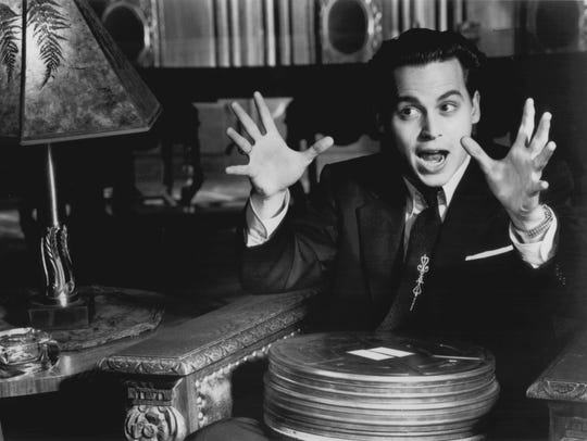 Johnny Depp stars in 'Ed Wood,' a biopic about the