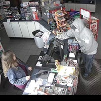 Plymouth police seek gas station robbery suspect
