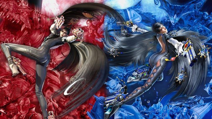 Hair today: Bayonetta 1 + 2: Switch Collection review   Technobubble